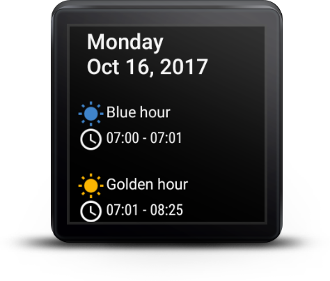 Built-in agenda view